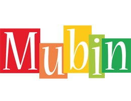Mubin colors logo