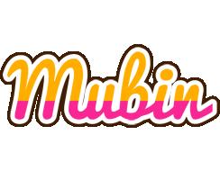 Mubin smoothie logo