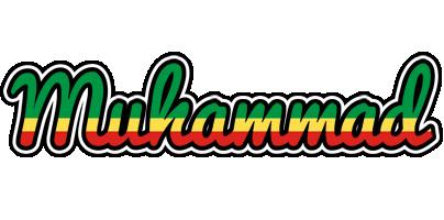 Muhammad african logo