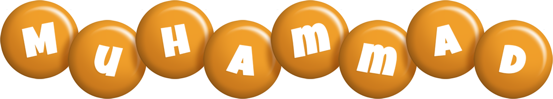 Muhammad candy-orange logo
