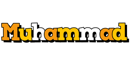 Muhammad cartoon logo