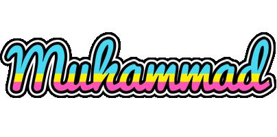 Muhammad circus logo