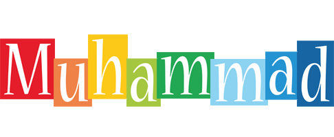 Muhammad colors logo