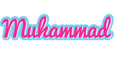 Muhammad popstar logo