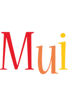 Mui birthday logo