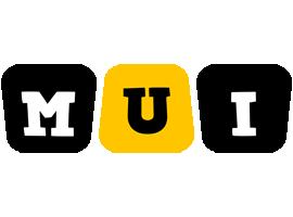Mui boots logo