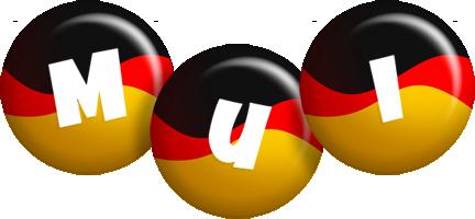 Mui german logo