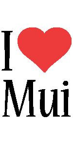 Mui i-love logo
