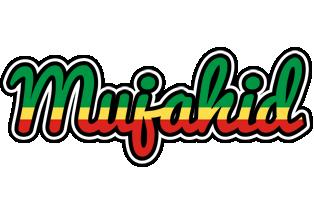 Mujahid african logo