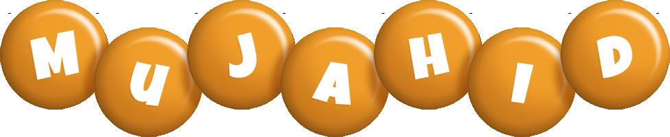 Mujahid candy-orange logo