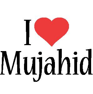 Mujahid i-love logo