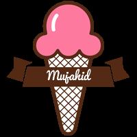 Mujahid premium logo