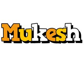 Mukesh cartoon logo