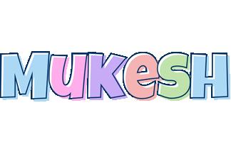 Mukesh pastel logo