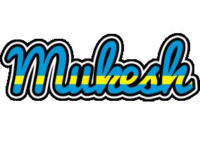 Mukesh sweden logo