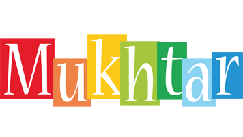 Mukhtar colors logo