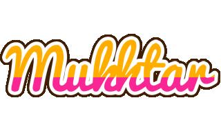 Mukhtar smoothie logo