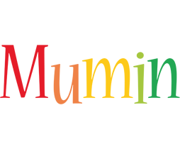 Mumin birthday logo