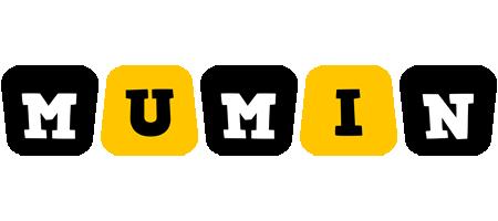 Mumin boots logo