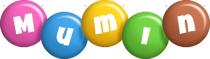 Mumin candy logo
