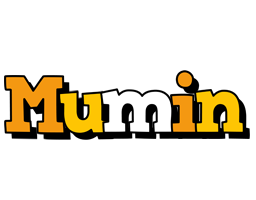 Mumin cartoon logo