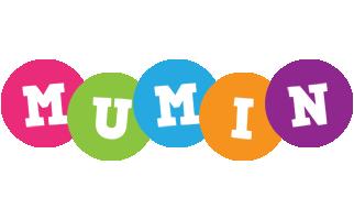 Mumin friends logo