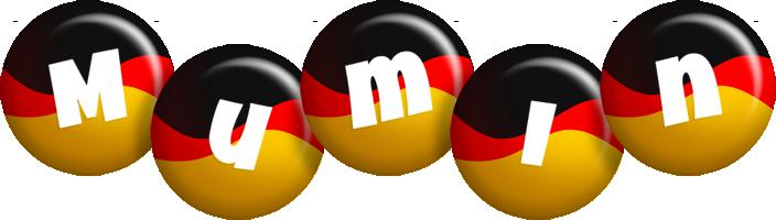 Mumin german logo