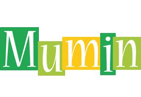 Mumin lemonade logo