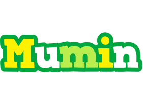 Mumin soccer logo