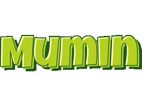 Mumin summer logo