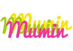 Mumin sweets logo