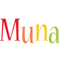 Muna birthday logo