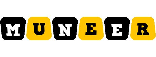 Muneer boots logo