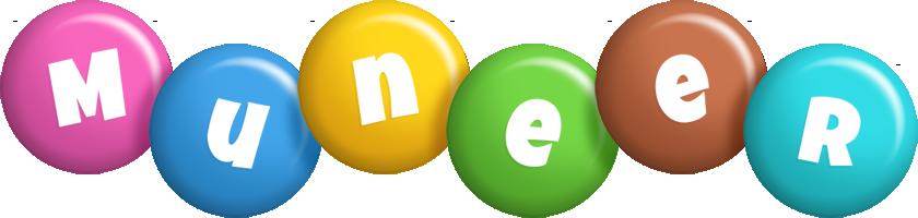 Muneer candy logo