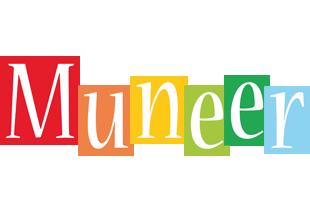 Muneer colors logo