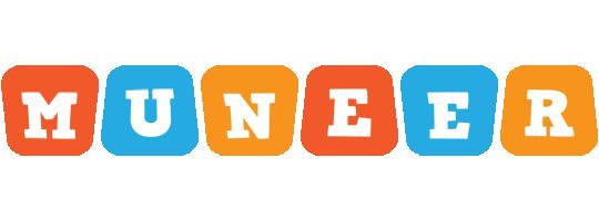 Muneer comics logo