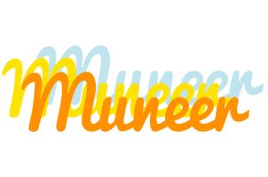 Muneer energy logo
