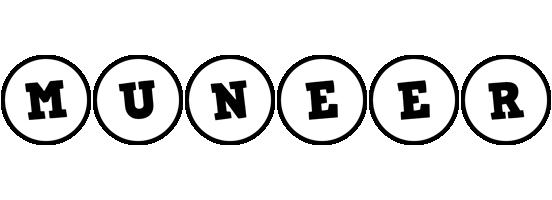 Muneer handy logo