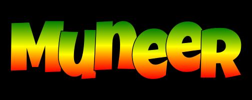 Muneer mango logo