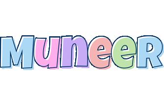 Muneer pastel logo
