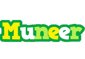 Muneer soccer logo