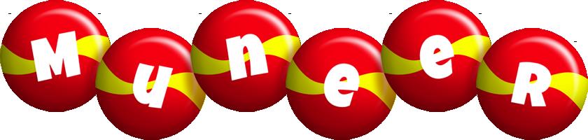 Muneer spain logo