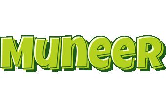 Muneer summer logo