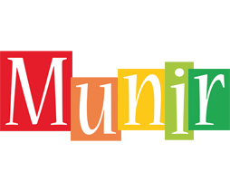 Munir colors logo
