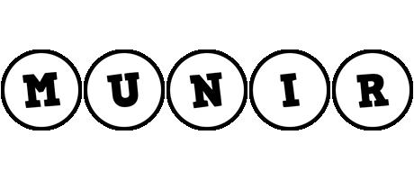 Munir handy logo