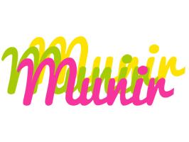 Munir sweets logo