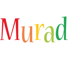 Murad birthday logo