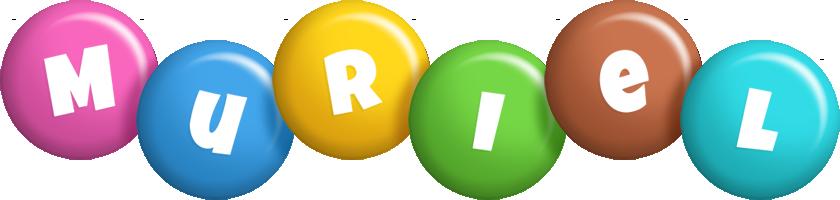 Muriel candy logo