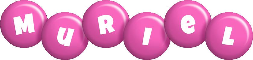 Muriel candy-pink logo