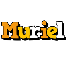 Muriel cartoon logo